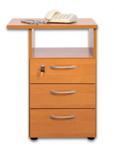 Add-on file cabinet