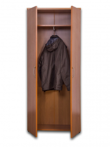 Wardrobe with extension hanging rod (width 600 mm)