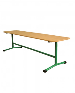 School bench (with straight legs)