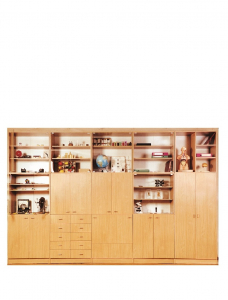 Wall unit for a classroom of History, Geography and Biology
