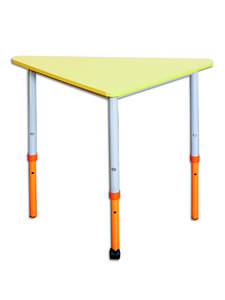 "Mobile modular height-adjustable table ""Triangle"" 90°"