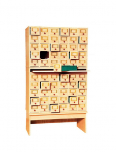 Card cabinet (60 drawers)