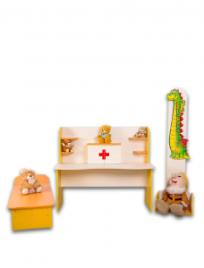 "Set of furniture ""Dr. Powderpill"""