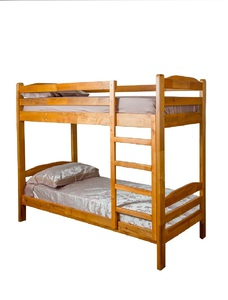 "Two-tier bed made of natural wood ""Siesta-1"""