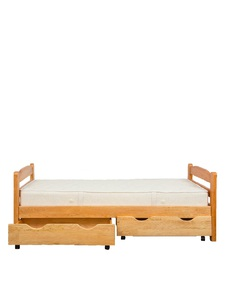 "Bed made of natural wood ""Zorianka-1"""